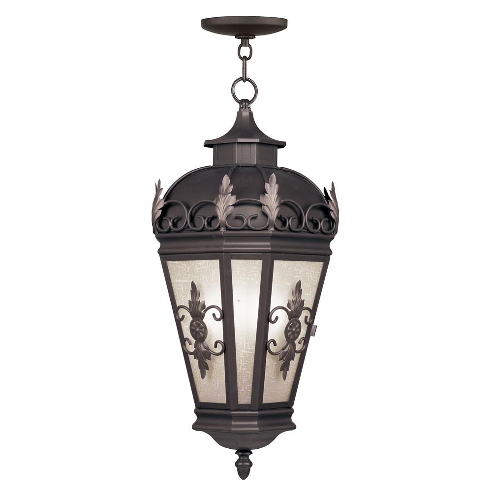 Livex Lighting 2199-07 Berkshire Outdoor Chain Hang in Bronze